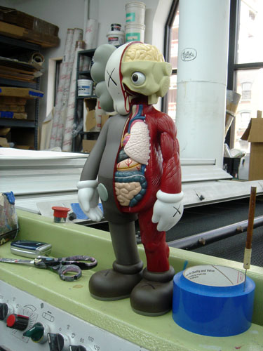 kaws companion dissected